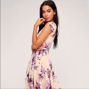 Lulu's French Countryside Floral Dress
